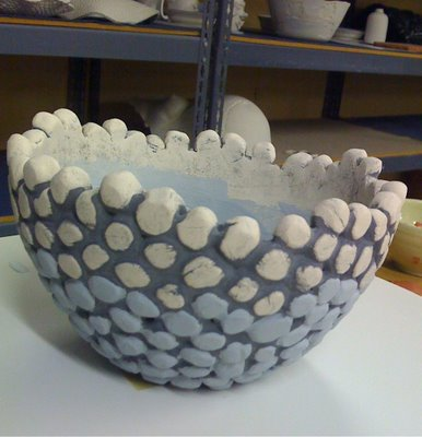 Bubble Bowl - Pottery Idea - Press Mold