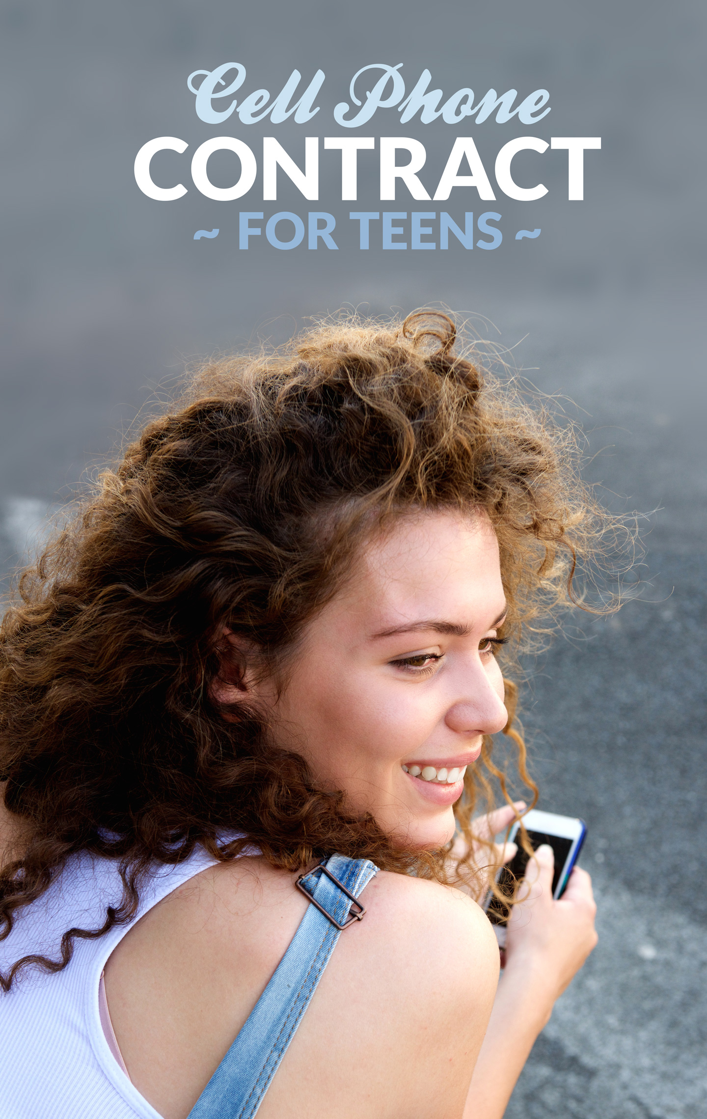 Cell Phone Contract For Teens - Template for Smartphone Agreement