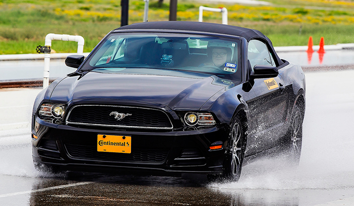 Mustang Continental Driving Test