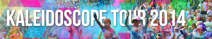Kaleidoscope Tour Color Run