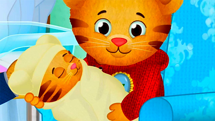daniel tiger meet the new baby games