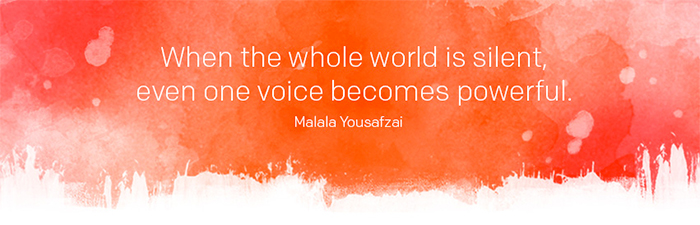 World Is Silence One Voice