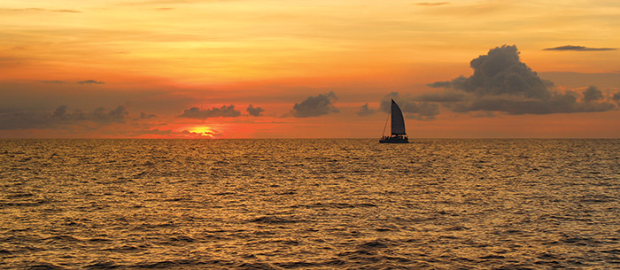 Sunset Boat Costa Rica
