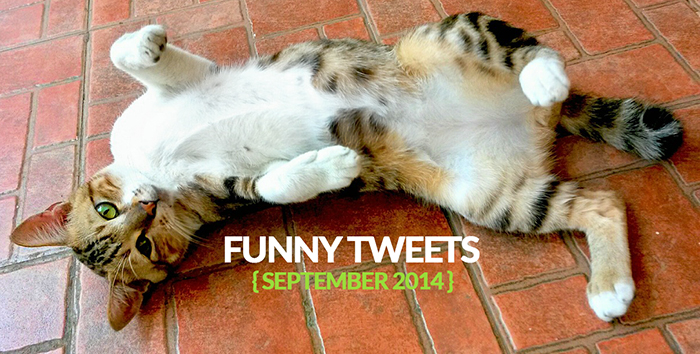 Funny Tweets of September 2014