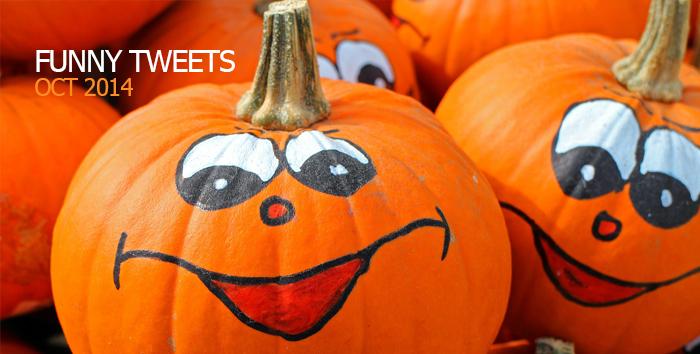Funny Tweets of Twitter - October 2014