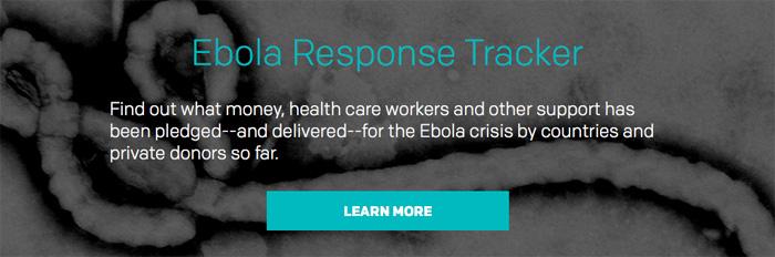 ONE Ebola Response Tracker
