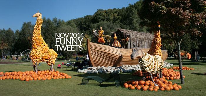 Best Tweets Twitter Thanksgiving 2014