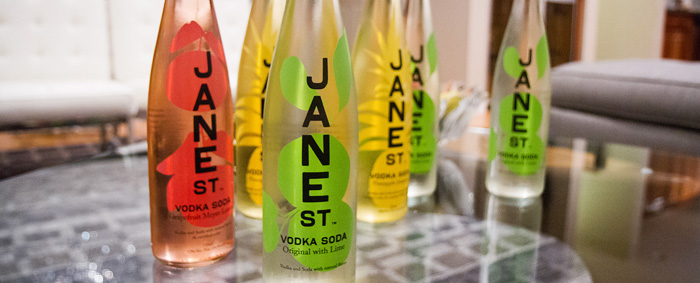 Jane St Vodka Soda