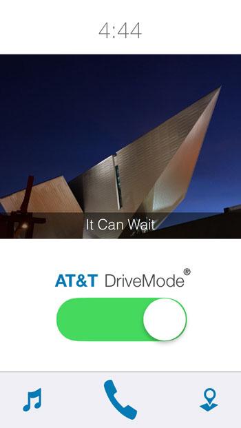 Drive Mode App - It Can Wait