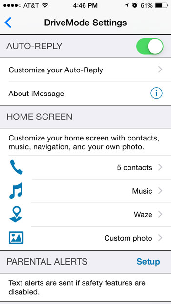 AT&T Drive Mode App - It Can Wait