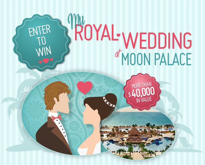 Palace Resorts Mexico Wedding Giveaway