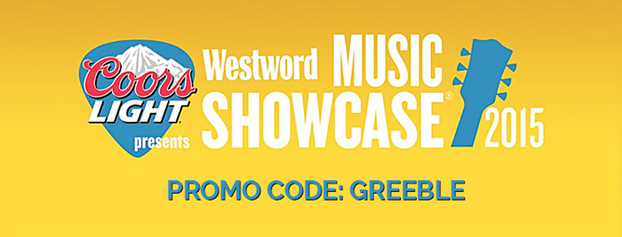 Westword Music Schowcase 2015 Promo Code