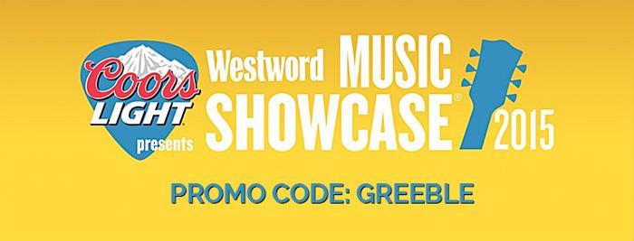 Westword Music Schowcase 2015 Promo Code