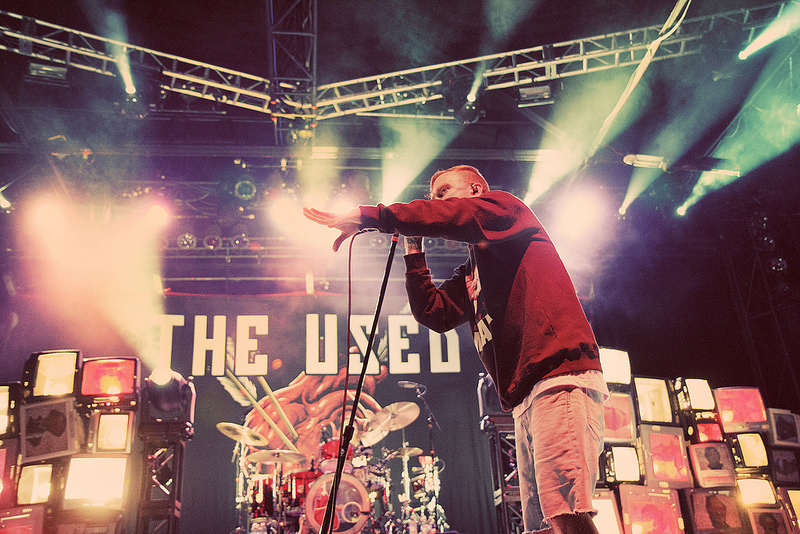 The Used - Concert Photos Denver
