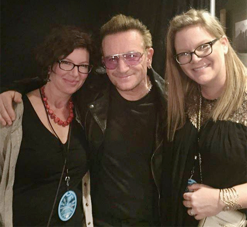 Meeting Bono from U2