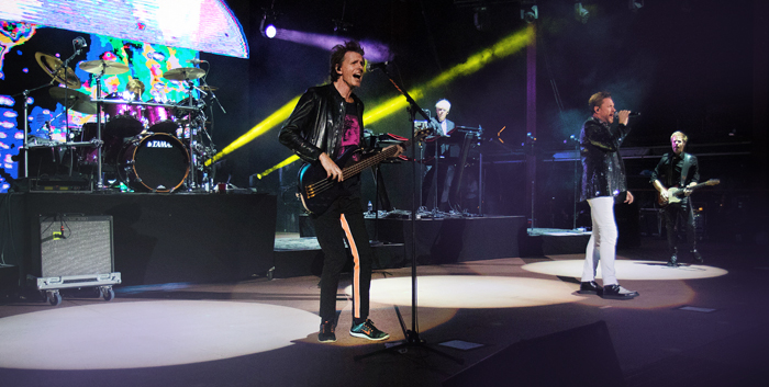Duran Duran at Red Rocks 2015