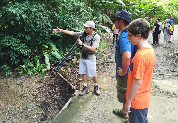 Tour of Manuel Antonio, Costa Rica