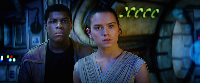 Finn & Rey from Star Wars: The Force Awakens