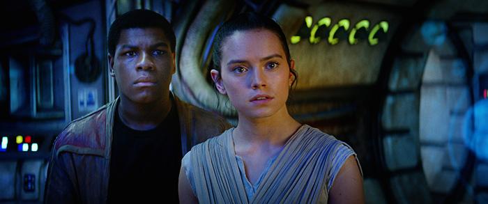 Finn & Rey from Star Wars: The Force Awakens
