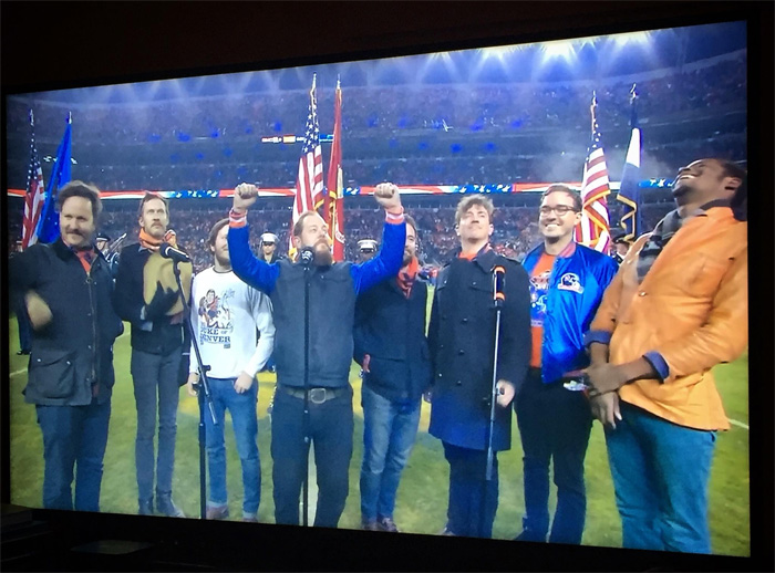 Nathaniel Rateliff & The Night Sweats - Broncos National Anthem