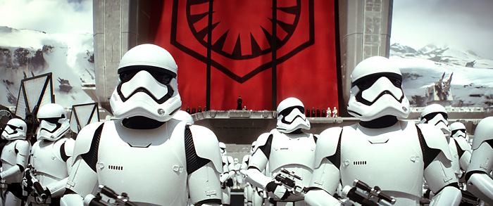 Hux & Stormtroopers - Star Wars: The Force Awakens