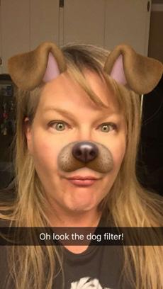 Snapchat Dog Lens