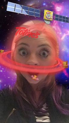 Snapchat Totinos Lens