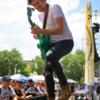 Black Pistol Fire plays Denver's Westword Music Showcase.