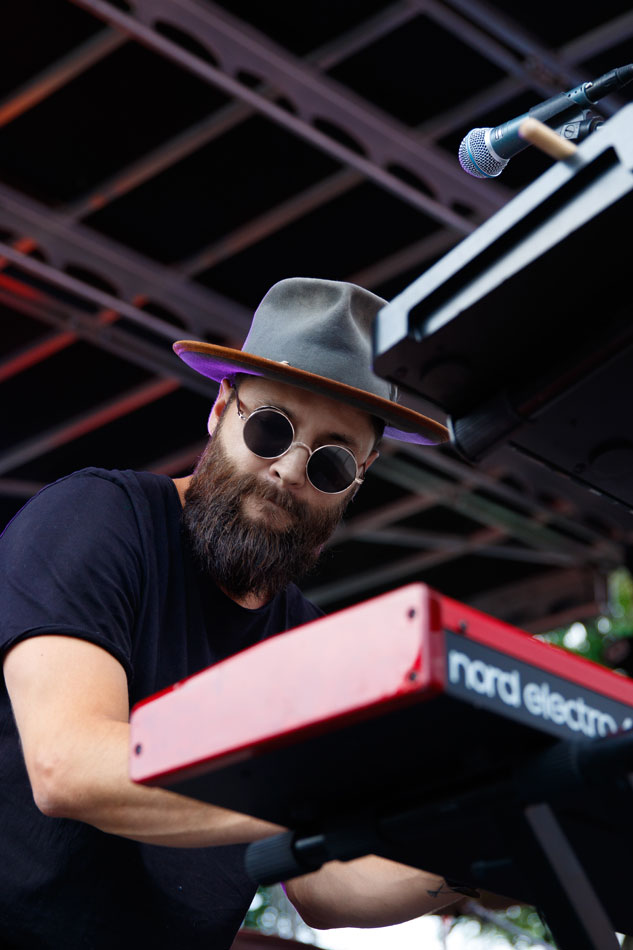 Grizfolk plays Denver's Westword Music Showcase.