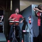 Denver hip hop band SF1 at Denver's Westword Music Showcase.