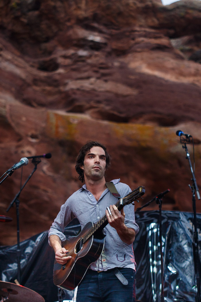 The Barr Brothers at Red Rocks in Denver