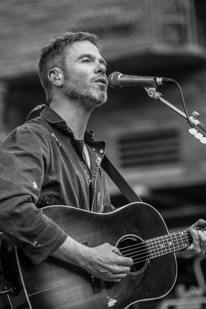 Josh Ritter opens for Elephant Revival at Red Rocks in Denver