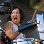 Pop-rock duo Matt and Kim perform at Denver's Westword Music Showcase 2016