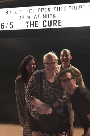 Celebrating 20 years of friendship with The Cure