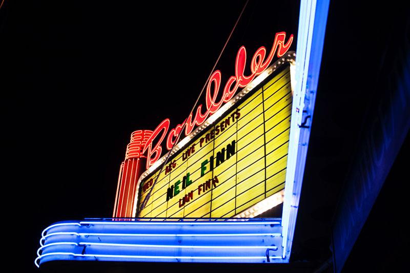 Neil Finn at the Boulder Theater, 2016