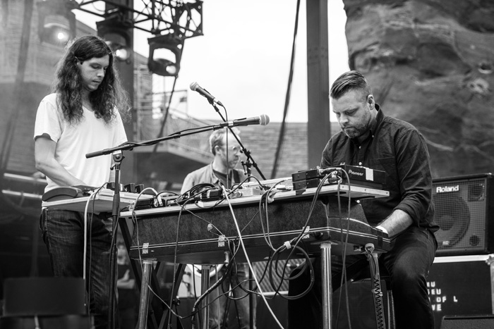 Museum of Love opens for LCD Soundsytem at Red Rocks, 2016