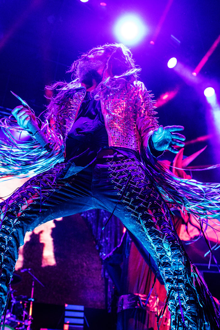 Rob Zombie performs with Korn in Denver at Fiddler's Green Ampitheatre, 2016