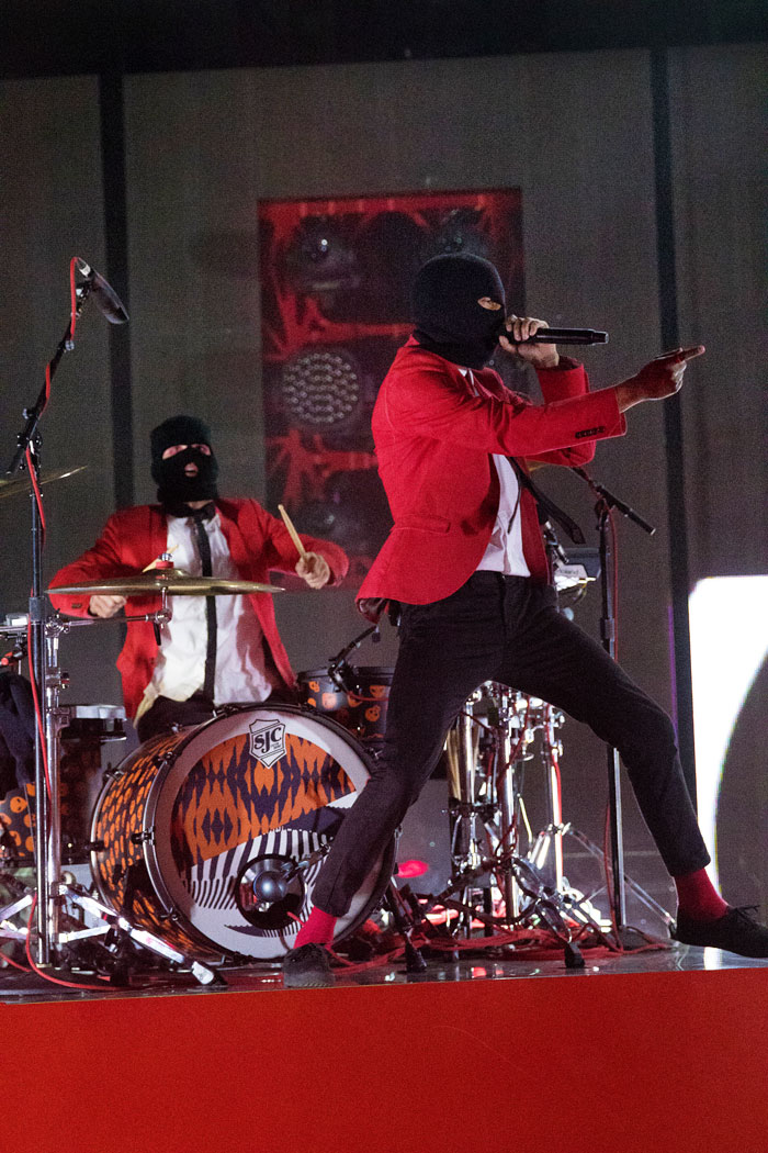 Twenty One Pilots concert photos from Red Rocks, Colorado