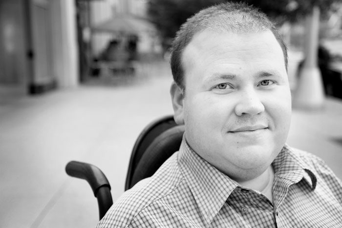 James makes me want to #LiveUnlimited. A shining example of a person enjoying life while dealing with muscular dystrophy.