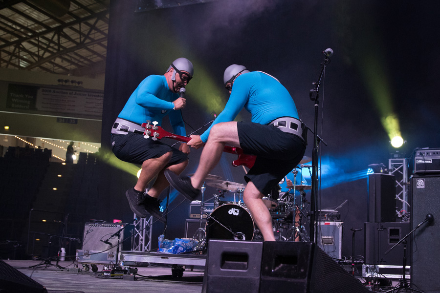 The Aquabats at Riot Fest Denver 2016