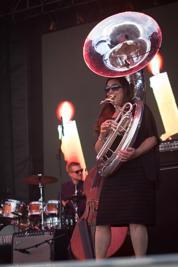 Denver band DeVotchKa at Riot Fest 2016