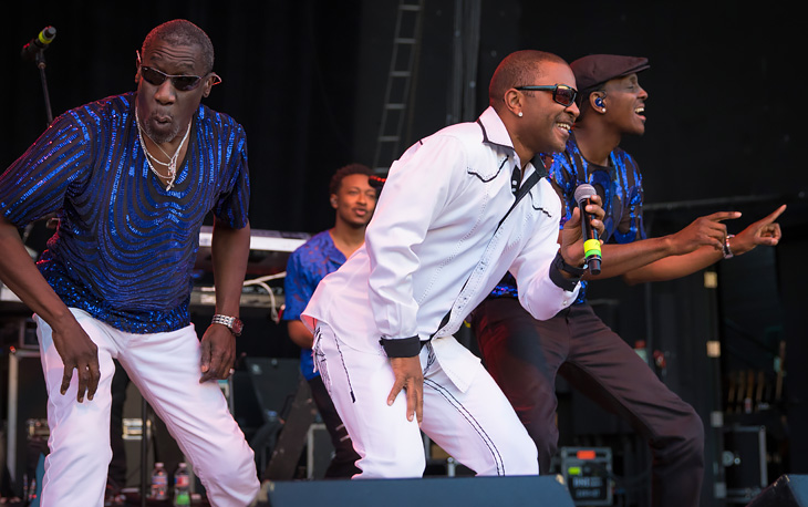 Kool & The Gang perform at Kool 105's annual Koncert in Denver.