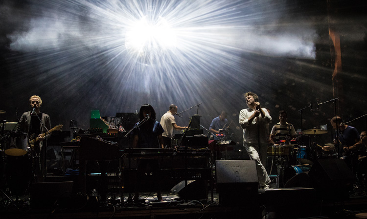 LCD Soundsystem lights up Red Rocks Amphitheatre in Denver