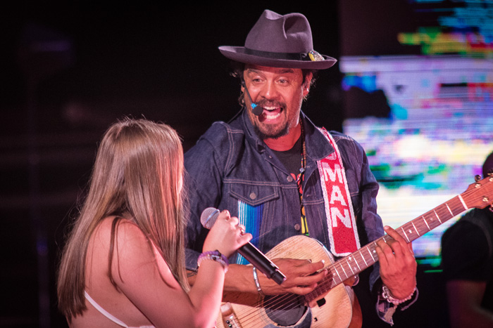 Concert photos from Michael Franti & Spearhead at Red Rocks in Denver, 2016