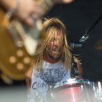 Chevy Metal (cover band from members of Foo Fighters) at Riot Fest Denver 2016