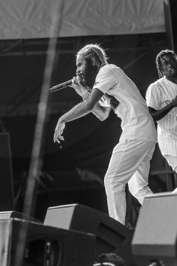 Flatbush Zombies at Riot Fest Denver 2016