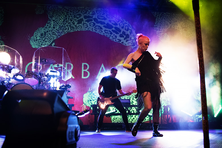 Garbage and Shirley Manson at Denver's Fillmore Auditorium in 2016