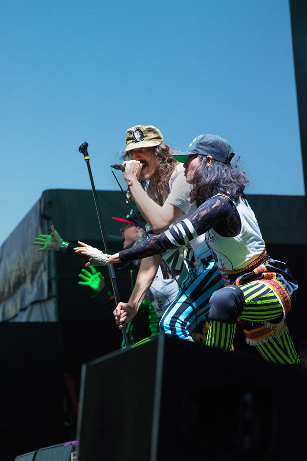 Gogol Bordello at Riot fest Denver 2016