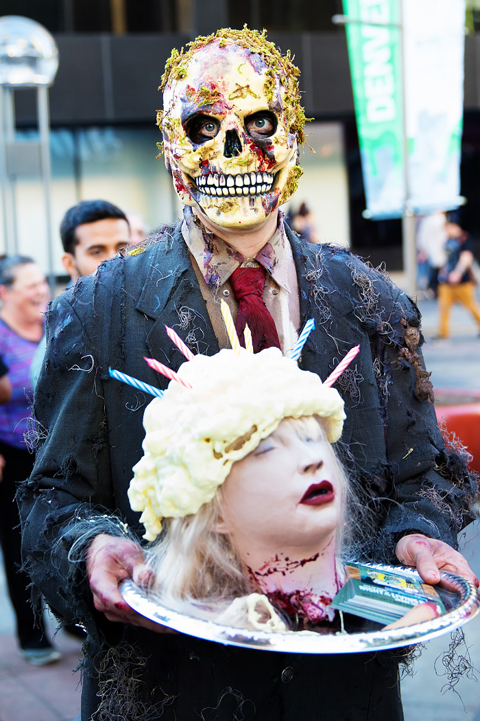 Photos From Denver Zombie Crawl 2016 Creepy Fun On 16th