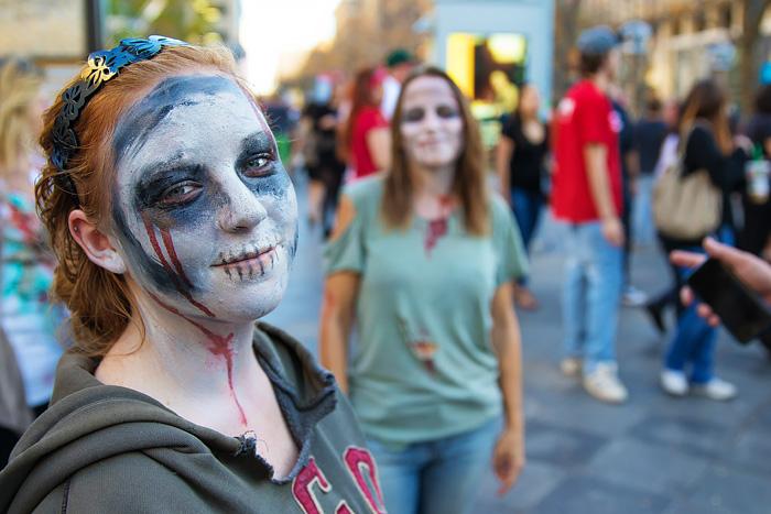 Denver Zombie Crawl 2016 - Halloween Fun on 16th Street Mall